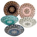 モロッカン パスタ・カレー皿セット(プレート5枚)