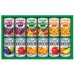 (まとめ) カゴメ フルーツ+野菜飲料ギフト KSR-15N 【×2セット】