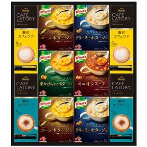 味の素 ギフトレシピクノールスープ&コーヒーギフト KGC-30N - 拡大画像