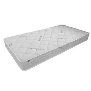 リバーシブルマットレス/寝具 【S ホワイト】 幅97×奥行195×高さ18cm オーガニックコットン 『KT-オーガニック』 【組立品】 - 拡大画像