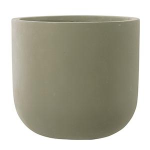 ファイバーセメント製 軽量植木鉢 スタウト Uポット マットセメント 33cm 植木鉢 - 拡大画像