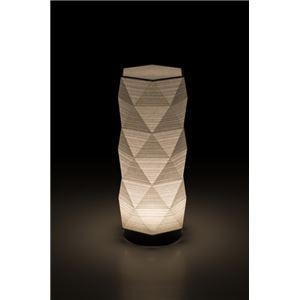 LEDコードレス 和室 モダン照明 HX300スタンドライト糸入り和紙 【日本製】 - 拡大画像