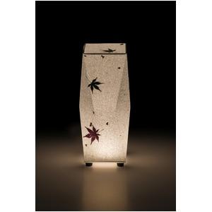 LED 和室 モダン照明 SQ302-acスタンドライト手漉き和紙もみじ 【日本製】 - 拡大画像