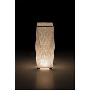 LED 和室 モダン照明 SQ302-acスタンドライト青海波【日本製】 - 拡大画像