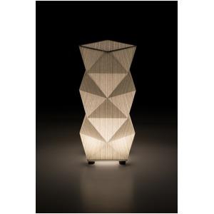 LED 和室 モダン照明 SQ303-acスタンドライト糸入り和紙【日本製】 - 拡大画像