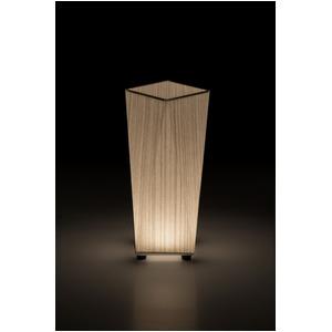 LED 和室 モダン照明 SQ304-acスタンドライト糸入り和紙【日本製】 - 拡大画像