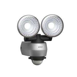 ムサシ 7.5W×2灯 LED センサーライト LED-AC315 - 拡大画像
