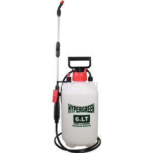 蓄圧式噴霧器 ハイパー 6L 延長パイプ付 #6000 - 拡大画像