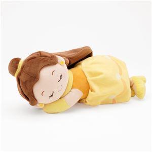 【Disney ディズニー】 ミニ 添い寝枕/ピロー 【ベル】 幅28cm 洗える ポリエステル 〔ベッドルーム 寝室〕 - 拡大画像