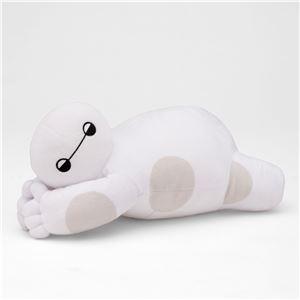 【Disney ディズニー】 ミニ 添い寝枕/ピロー 【ベイマックス】 幅28cm 洗える ポリエステル 〔ベッドルーム 寝室〕 - 拡大画像