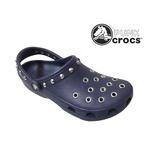 パンク クロックス クラシック ケイマン カスタム 濃紺 ネイビー crocs サンダル 26cm(M8/W10)