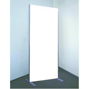 プロ仕様!割れない鏡 【REFEX】リフェクス フィットネス スタンドミラー 大型姿見 NRM-F60 ミラー:W60cm×180cm×2.7cm スタンド:W61cm×H16.3cm×L50cm 飾縁:W1.5cm シルバー【日本製】 - 拡大画像