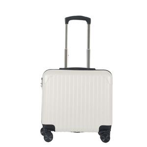 Sunruck スーツケース Sサイズ 機内持ち込み TSAロック付き SR-BLT021-WH ホワイト - 拡大画像