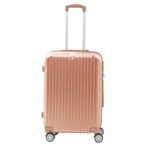 Sunruck スーツケース Mサイズ TSAロック付き 63L SR-BLT028-RGD ローズゴールド - 拡大画像