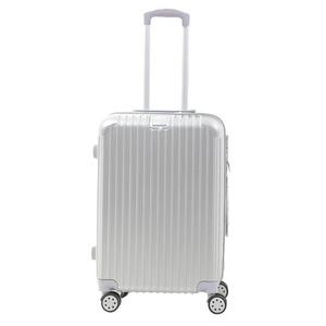Sunruck スーツケース Mサイズ TSAロック付き 63L SR-BLT028-SV シルバー - 拡大画像