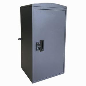 Sunruck 宅配ボックス 一戸建て用 大容量 73L 鍵付き 据え置き型 SR-DL3009-DGY ダークグレー - 拡大画像