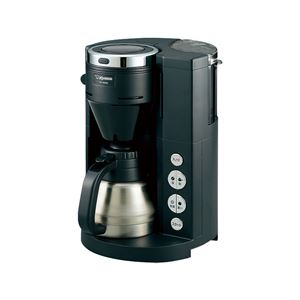 コーヒーメーカー/コーヒーマシン 【2段階濃度調節】 自動ミル洗浄 ミル丸洗い - 拡大画像