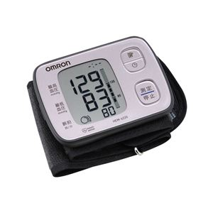 【OMRON オムロン】 血圧計/健康器具 【手首式 ピンク】 見やすい大きな文字 - 拡大画像