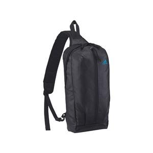 【adidas アディダス】 ショルダーバッグ/肩掛けバッグ 【ブラック】 ポリエステル製 220g - 拡大画像