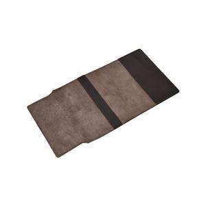 柔らかい山羊革のブックカバーチョコ288-13G