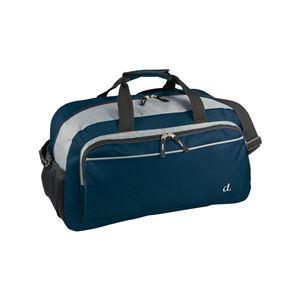 ボストンバッグ/鞄 【ネイビー】 ポリエステル製 ショルダーベルト 『ドーン・オン・デック』 - 拡大画像