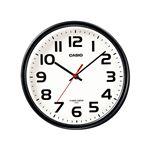 インテリア電波クロック/掛け時計 【置き掛け兼用】 国内標準電波受信 自立スタンド付き