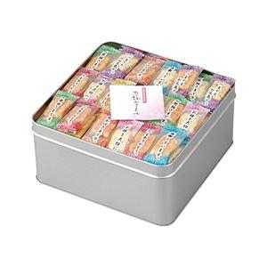 米菓詰め合わせ/ギフトセット 【合計380g】 缶入り 個包装 日本製 『感謝のきもち』 〔お中元 お歳暮 内祝い〕 - 拡大画像