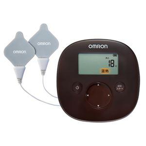 【OMRON オムロン】 温熱低周波治療器/健康器具 【ブラウン】 温治療コース・低周波治療コース 〔リラックス リフレッシュ〕 - 拡大画像