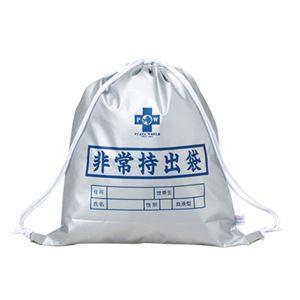 非常持出袋(SD)/避難用バッグ 単品 【難燃性素材使用】 日本製 - 拡大画像