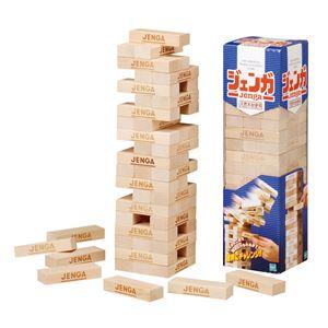 ジェンガ/ブロック玩具 【天然木材】 54片入り 〔ホームパーティー 誕生会 忘年会 新年会〕