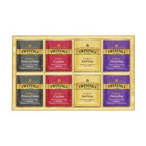 【TWININGS トワイニング】 ティーバッグセット/紅茶詰め合わせ 【40個入り】 化粧箱入り 〔お中元/お歳暮/内祝い〕