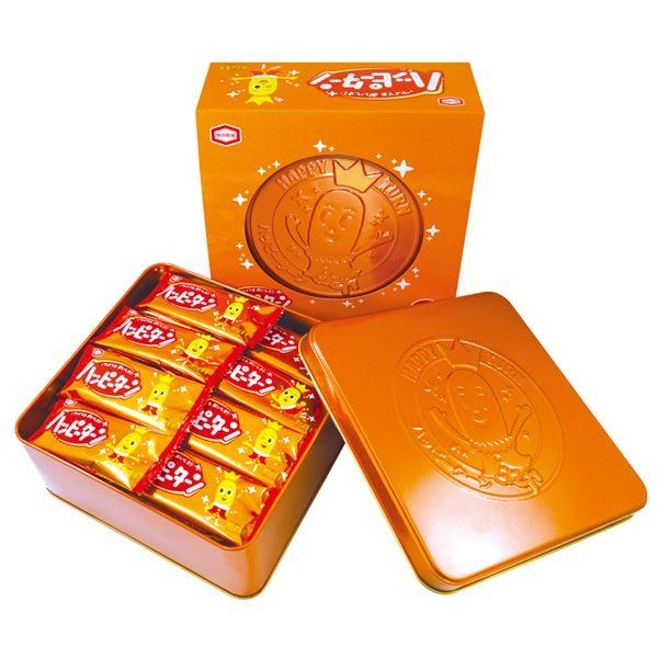 【亀田製菓】 ハッピーターン 缶ギフトセット 【24枚入り】 化粧箱入り 日本製 〔お中元 お歳暮 内祝い〕