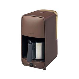 コーヒーメーカー ダークブラウン ADC-A060TD