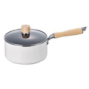 白いパン 片手鍋18cm MA-9373