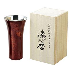 漆磨シングルカップ 赤 SCS-L502