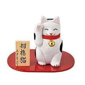 木目込み招福猫 A2006 - 拡大画像