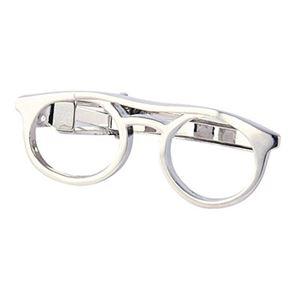 ネクタイピン メガネ 700-300 - 拡大画像