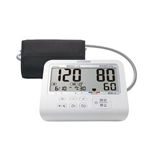 シチズン上腕式血圧計 CHU703-CC - 拡大画像