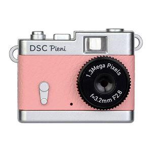 小型トイデジタルカメラ コーラルピンク DSC-PIENI CP