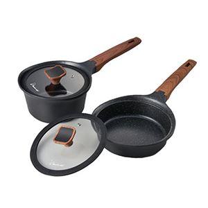 ララミー鍋+フライパンセット 630230 - 拡大画像