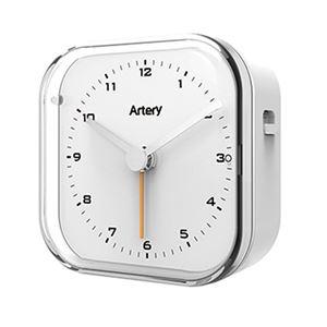 アナログ電波クロック ホワイト AM-501W