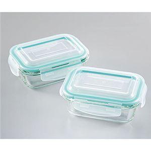 ガラス保存容器2pcsA 7041288
