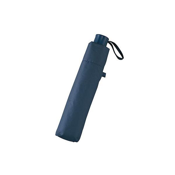 UV晴雨兼用大寸耐風式軽量ミニ傘 ネイビー 5039