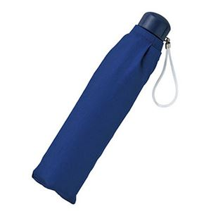 カラー軽量スーパーミニ傘 紺 578 - 拡大画像