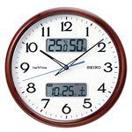 ハイブリッド電波掛時計 ZS252B