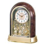 回転飾り付電波置時計 4RY656-023