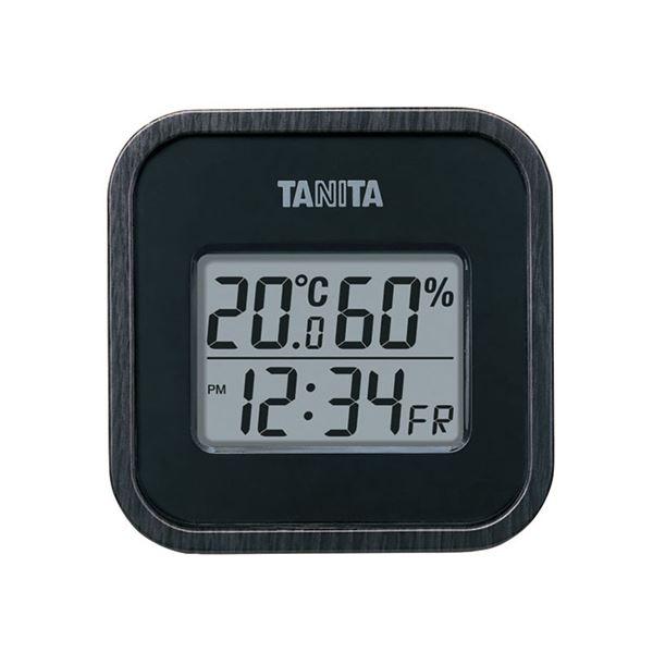 デジタル温湿度計 TT-571-BK ブラック