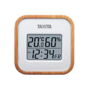 デジタル温湿度計 TT-571-NA ナチュラル - 拡大画像