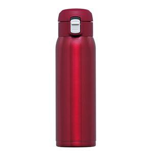 ワンタッチマグボトル500ml RH-1518 レッド - 拡大画像