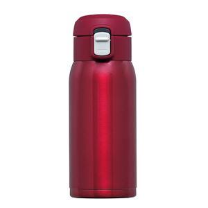 ワンタッチマグボトル350ml RH-1515 レッド - 拡大画像